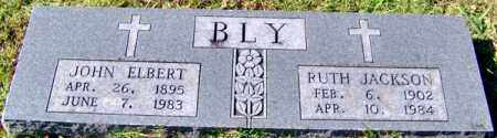 BLY, JOHN ELBERT - Randolph County, Arkansas | JOHN ELBERT BLY - Arkansas Gravestone Photos