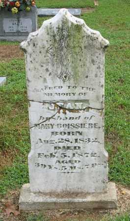 BOISSIERE, JEAN - Randolph County, Arkansas | JEAN BOISSIERE - Arkansas Gravestone Photos