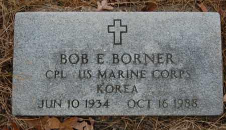BORNER (VETERAN KOR), BOB E - Randolph County, Arkansas | BOB E BORNER (VETERAN KOR) - Arkansas Gravestone Photos