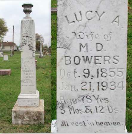 BOWERS, LUCY A - Randolph County, Arkansas | LUCY A BOWERS - Arkansas Gravestone Photos