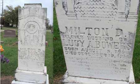 BOWERS, MILTON D - Randolph County, Arkansas | MILTON D BOWERS - Arkansas Gravestone Photos