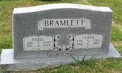 HAYES BRAMLETT, GERTRUDE AGNES - Randolph County, Arkansas   GERTRUDE AGNES HAYES BRAMLETT - Arkansas Gravestone Photos