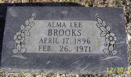 BROOKS, ALMA LEE - Randolph County, Arkansas   ALMA LEE BROOKS - Arkansas Gravestone Photos