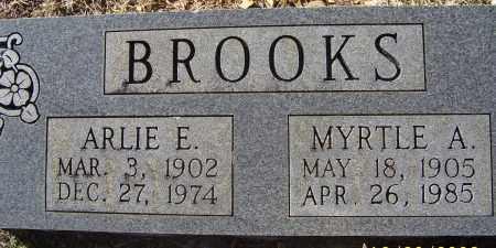 BROOKS, MYRTLE A. - Randolph County, Arkansas   MYRTLE A. BROOKS - Arkansas Gravestone Photos