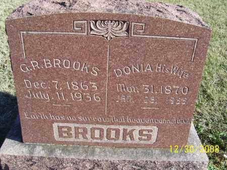 BROOKS, DONIA - Randolph County, Arkansas | DONIA BROOKS - Arkansas Gravestone Photos