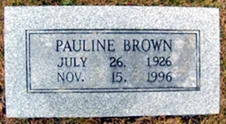STALNAKER BROWN, AGNES PAULINE - Randolph County, Arkansas | AGNES PAULINE STALNAKER BROWN - Arkansas Gravestone Photos