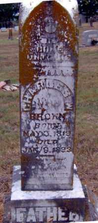 BROWN, CHARLES WESLEY - Randolph County, Arkansas | CHARLES WESLEY BROWN - Arkansas Gravestone Photos