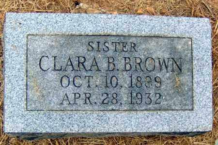 BROWN, CLARA B - Randolph County, Arkansas | CLARA B BROWN - Arkansas Gravestone Photos