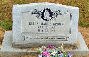 ROACH BROWN, DELLA MAUDE - Randolph County, Arkansas   DELLA MAUDE ROACH BROWN - Arkansas Gravestone Photos