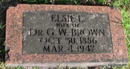 PAINE BROWN, ELSIE E - Randolph County, Arkansas | ELSIE E PAINE BROWN - Arkansas Gravestone Photos