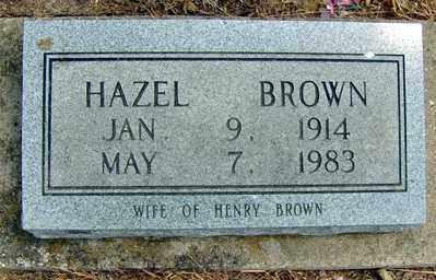 RUSSELL BROWN, HAZEL - Randolph County, Arkansas | HAZEL RUSSELL BROWN - Arkansas Gravestone Photos
