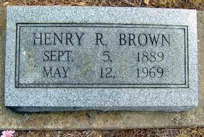 BROWN, HENRY R - Randolph County, Arkansas | HENRY R BROWN - Arkansas Gravestone Photos
