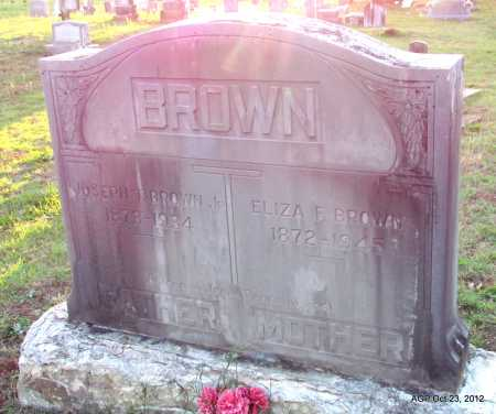 MCCANDLESS BROWN, ELIZA F - Randolph County, Arkansas | ELIZA F MCCANDLESS BROWN - Arkansas Gravestone Photos