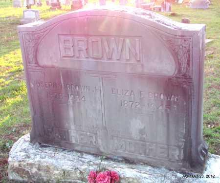 BROWN, ELIZA F - Randolph County, Arkansas | ELIZA F BROWN - Arkansas Gravestone Photos