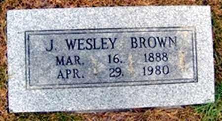 BROWN, JAMES WESLEY - Randolph County, Arkansas | JAMES WESLEY BROWN - Arkansas Gravestone Photos