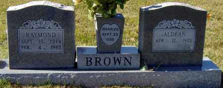 BROWN, JAMES RAYMOND - Randolph County, Arkansas | JAMES RAYMOND BROWN - Arkansas Gravestone Photos