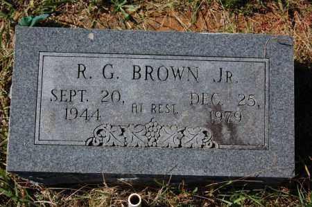 BROWN, JR., ROBERT G. - Randolph County, Arkansas | ROBERT G. BROWN, JR. - Arkansas Gravestone Photos