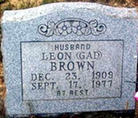 BROWN, LEON GAD - Randolph County, Arkansas | LEON GAD BROWN - Arkansas Gravestone Photos