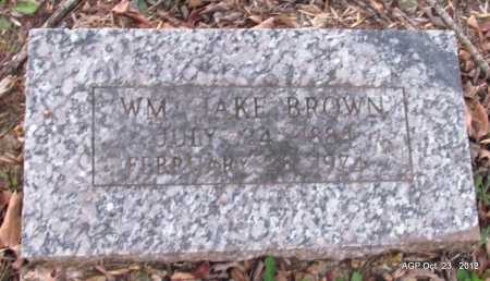 BROWN, WILLIAM JAKE - Randolph County, Arkansas | WILLIAM JAKE BROWN - Arkansas Gravestone Photos