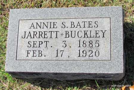 BATES BUCKLEY, ANNIE S. - Randolph County, Arkansas | ANNIE S. BATES BUCKLEY - Arkansas Gravestone Photos