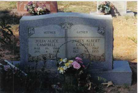 CAMPBELL, JULIA ALICE - Randolph County, Arkansas | JULIA ALICE CAMPBELL - Arkansas Gravestone Photos