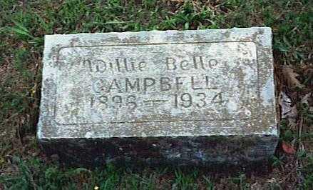 CAMPBELL, WILLIE BELLE - Randolph County, Arkansas   WILLIE BELLE CAMPBELL - Arkansas Gravestone Photos