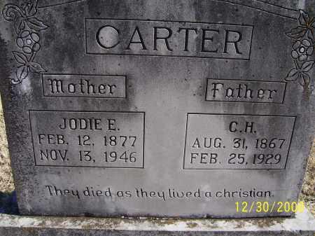 CARTER, C. H. - Randolph County, Arkansas | C. H. CARTER - Arkansas Gravestone Photos