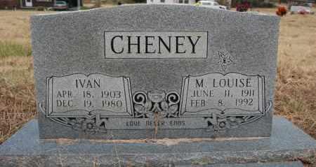 CHENEY, IVAN - Randolph County, Arkansas | IVAN CHENEY - Arkansas Gravestone Photos