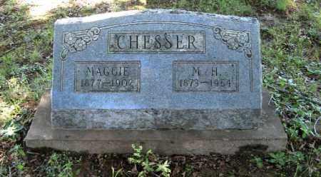 CHESSER, MAGGIE - Randolph County, Arkansas | MAGGIE CHESSER - Arkansas Gravestone Photos