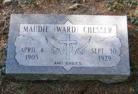 CHESSER, MAUDIE - Randolph County, Arkansas | MAUDIE CHESSER - Arkansas Gravestone Photos