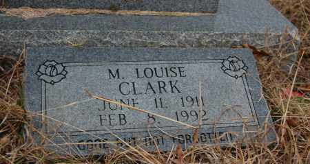 CLARK, M. LOUISE - Randolph County, Arkansas | M. LOUISE CLARK - Arkansas Gravestone Photos