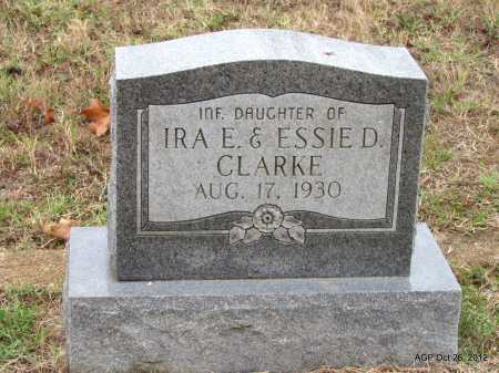 CLARKE, POSIE EARLINE - Randolph County, Arkansas | POSIE EARLINE CLARKE - Arkansas Gravestone Photos