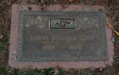 COX, DAVID RUSSELL - Randolph County, Arkansas | DAVID RUSSELL COX - Arkansas Gravestone Photos