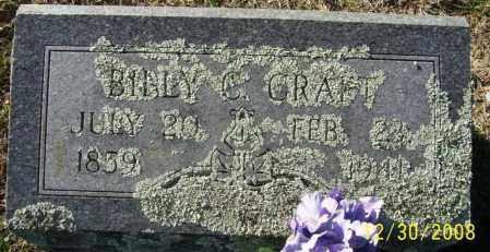 "CRAFT, WILLIAM C. ""BILLY"" - Randolph County, Arkansas | WILLIAM C. ""BILLY"" CRAFT - Arkansas Gravestone Photos"