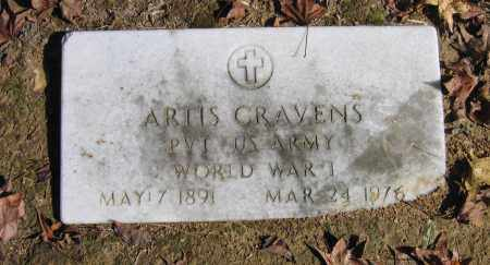 CRAVENS (VETERAN WWI), ARTIS - Randolph County, Arkansas | ARTIS CRAVENS (VETERAN WWI) - Arkansas Gravestone Photos