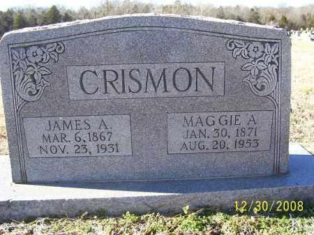 CRISMON, JAMES A. - Randolph County, Arkansas | JAMES A. CRISMON - Arkansas Gravestone Photos