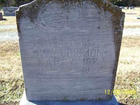 "CRISMON, SARAH C. ""S. C."" - Randolph County, Arkansas | SARAH C. ""S. C."" CRISMON - Arkansas Gravestone Photos"