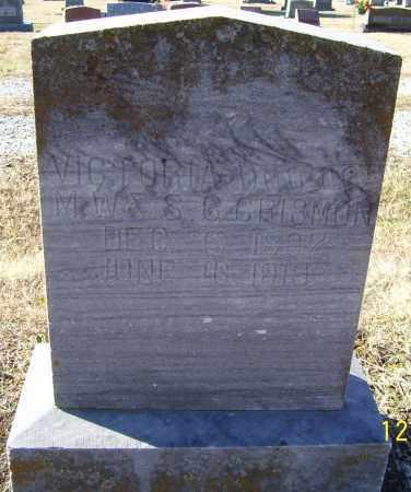 CRISMON, VICTORIA - Randolph County, Arkansas | VICTORIA CRISMON - Arkansas Gravestone Photos