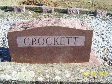 CROCKETT, FAMILY STONE - Randolph County, Arkansas   FAMILY STONE CROCKETT - Arkansas Gravestone Photos
