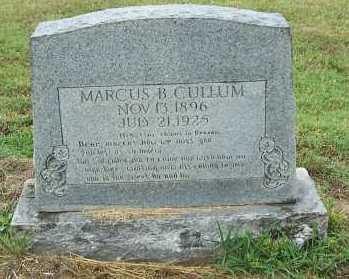 CULLUM, MARCUS - Randolph County, Arkansas   MARCUS CULLUM - Arkansas Gravestone Photos