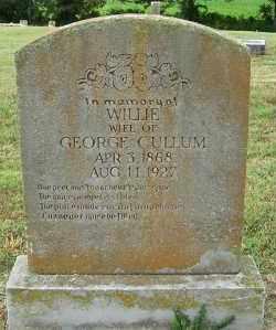 MCCOY CULLUM, WILLIE - Randolph County, Arkansas | WILLIE MCCOY CULLUM - Arkansas Gravestone Photos