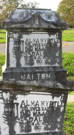 DALTON, ALMA MYRTLE - Randolph County, Arkansas | ALMA MYRTLE DALTON - Arkansas Gravestone Photos