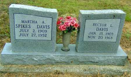 SPIKES DAVIS, MARTHA ADA - Randolph County, Arkansas | MARTHA ADA SPIKES DAVIS - Arkansas Gravestone Photos