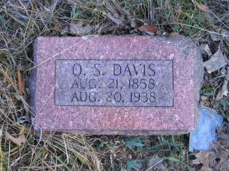 DAVIS, OZIAS S - Randolph County, Arkansas | OZIAS S DAVIS - Arkansas Gravestone Photos