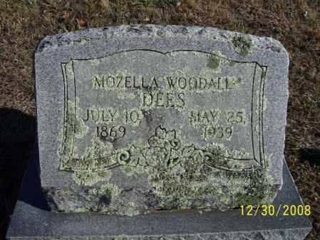DEES, MOZELLA - Randolph County, Arkansas | MOZELLA DEES - Arkansas Gravestone Photos