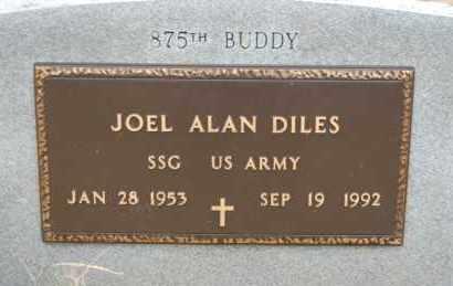 DILES (VETERAN), JOEL ALAN - Randolph County, Arkansas   JOEL ALAN DILES (VETERAN) - Arkansas Gravestone Photos