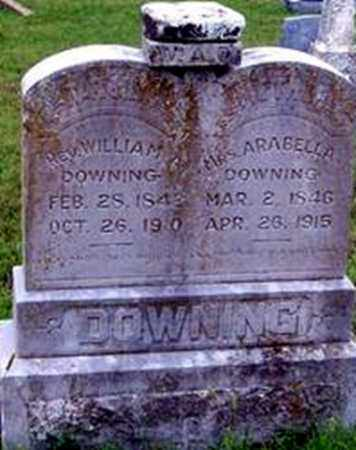 WHITE DOWNING, ARABELLA - Randolph County, Arkansas | ARABELLA WHITE DOWNING - Arkansas Gravestone Photos