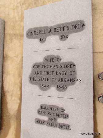 DREW, CINDERELLA - Randolph County, Arkansas | CINDERELLA DREW - Arkansas Gravestone Photos