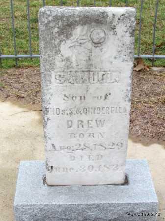 DREW, SAMUEL - Randolph County, Arkansas   SAMUEL DREW - Arkansas Gravestone Photos