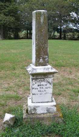 EDRINGTON, U. V. - Randolph County, Arkansas | U. V. EDRINGTON - Arkansas Gravestone Photos